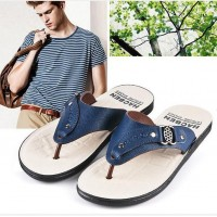 Slippers Summer Influx of Men's Sandals 2016 Flip Fashion Personality Slip Beach Sandals