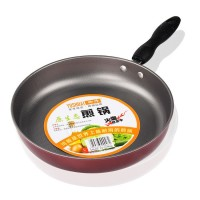 Non-stick flat bottom frying pan 26cm omelette pancakes steak pot universal