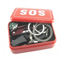 SOS Tools Emergency Equipment Kit First Aid Kit Car Emergency Supplies SOS Outdoor Self-Survival Equipment