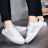 2017 New Spring Shoes Men's Sports Shoes Casual Men's Shoes Youth Trend Couple Couple Small White Shoes