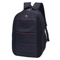 Black Backpack Multi-functional Computer Bag Men's Office Shoulder Bag Waterproof Fashion Student Bag