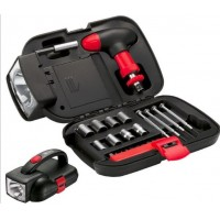 Car Multi - Function Toolbox 24 Sets of Lights with A Combination Suite Household Hardware Tools Automotive Supplies