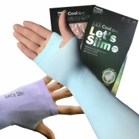 Ice Silk Sunscreen Ice Sleeves Anti-ultraviolet Sleeve Arm Sets Driving Outdoor Gloves
