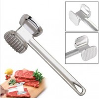 Kitchen Bakery Tools Double-sided Loose Hammer Steak Hammer Grinder Hammer Aluminum Steak Tool