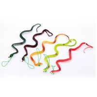 April Fool 's Day Halloween Tricky Toys Entire Toy Funny Rubber Snake Simulated Snake 9g