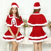 Halloween Costume 2016 New Christmas Clothes Christmas Split Christmas Performance Clothing Suit Shawl