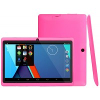 Ultrathin 7 inch 8GB Tablet PC, Google Android 4.2 Jelly Bean OS, Allwinner A33 Quad Core CPU, HD 1024*600 Resolution Multi-touch Screen, Dual Camera, Wifi, Bluetooth