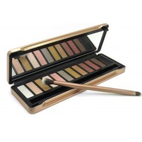 2015 New Makeup set 12 Colors palette nake5 eyeshadow palettes with brush