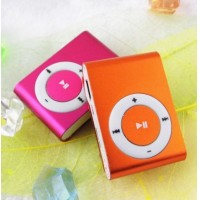 Free Shipping metal mp3 Mini clip,music player Players,support top 8gb micro sd card/tf card!Only MP3