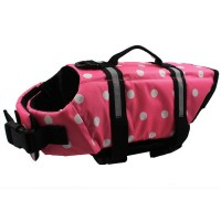 Dog pet jacket swimsuit Clothes for dogs Life Jacket bathing suit Coat Flotation S