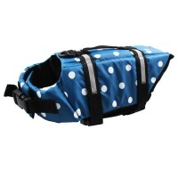 Dog pet jacket swimsuit Clothes for dogs Life Jacket bathing suit VESTS Coat Flotation M