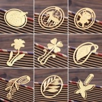 7177 South Korea stationery delicate miniature metal bookmark China creative wind contracted classic lovely bookmark