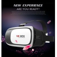 100% original VR BOX 2.0 Cardboard VR Virtual Reality 3D Glasses  for 3.5 to 6.0 Inch Smartphone