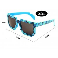 Minecraft creeper cosplay boys girls game spectacles sunglasses knickknack zombie mens womens spec glasses green blue sunglasses