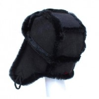 Fashion Cute Genuine Sheep Skin,earmuff Hat for Men/women