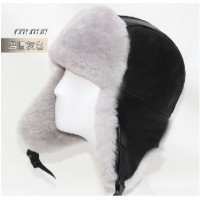Super Quality Winter Geninue Sheepskin Fur Hat