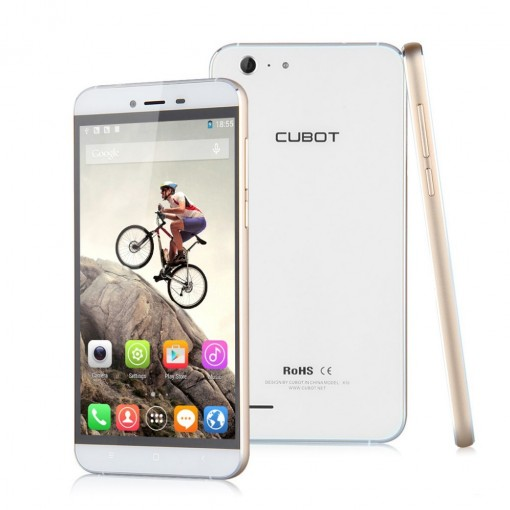 Original Cubot X10 5.5 inch MTK6592M 1.4GHz Octa Core Dual SIM Android 4.4 2GB 16GB IP65 Waterproof Mobile Phone IPS OGS HD 13MP 8MP
