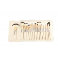 New Professional 18PCS Makeup Brush Set Make-up Toiletry Kit Wool Brand Make Up Brush Set Case