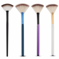 Brush Cleaning Tool Oral Makeup Brush Fan-shaped Brush Puff Makeup Set Cosmetic Kit Facial Makeup Tools