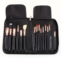 Wholesale Professional Pincel Maquiagem Sigmax Complete Kit - Copper 29pcs Extravaganza Makeup Brushes Set with leather Pouch