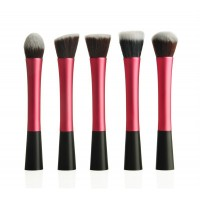 5pcs Blue Make up Brush Set Multi-Function Pro Makeup Brushes Powder Concealer Blush Liquid Foundation Kabuki Cosmetics BrushTools