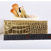 Professional Gold Makeup Brushes Set 7Pcs/set Make-up Toiletry Kit Cosmetic Foundation Brush Beauty Make Up Soft Brush