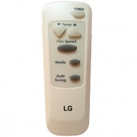 Replacement LG air conditioner remote control AKB35706904