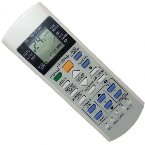 Replacement Air Conditioner Remote Control for Panasonic A75c2998