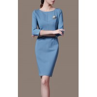 Chic Elegant Exclusive OL Fashion Women Party Dress Pencil Dress SIL1010Apparel<br>Chic Elegant Exclusive OL Fashion Women Party Dress Pencil Dress SIL1010<br>