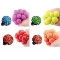 Free Shipping 1Piece Infectious Disease Balls / Grape Stress Ball Squeezable Grape Ball