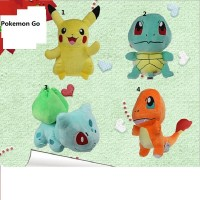 12 Style Mini Pokemon GO Figure Plush Doll Toy 5.5