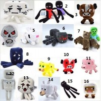 Free shipping Minecraft plush toy Brinquedos Game Toys Cheapest Sale High Quality Plush Toys Cartoon Game Toys