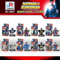 2016 Hot Movie DC Batman VS Superman Dawn of Justice Super Hero Minifigure Building Block Baby Toy Children Gift Toy 8pcs one set