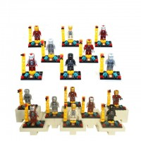 Super Heroes Iron Man Minifigures SY179 8Pcs/lot DIY Building Blocks Learning & Education Baby Toy for children gift with original box