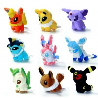 New 8pcs/lot Pokemon Plush Toys 5