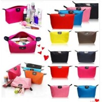 Waterproof Lady Makeup Cosmetic Bag Make Up Bag Clutch Totes Bag Handbags Travel Kit Jewelry Organizer Casual Purse Gift