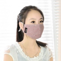 Double activated charcoal piece of respirators