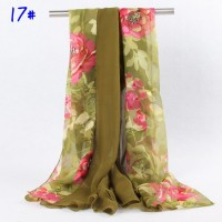 Hot style about splicing silk scarves