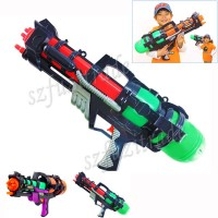 Plastic Toys Big Toy Water Gun Pistol Inflatable Pressure Gun Outdoor Fun Sports Summer Beach Shooting Squirt Nerf Water Bullet