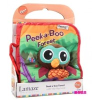 Lamaze baby stereo cloth book baby toys 0-1 year old cloth book