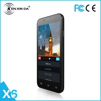 Kenxinda X6 5 Inch Mobile Phone Android 4.4 Dual Sim Slot Dual Core GPS Bluetooth, 2g/3g Phablet Mtk6582 CPU Smart Phone