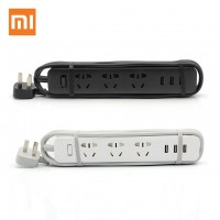 Original Xiaomi Power Strip with 3 USB Port for Cellphone Tablet Home Electronics
