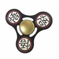 Dragon Ball Alloy Tri Fidget Hand Spinner Triangle Finger EDC Focus Stress ADHD Gyro Toy