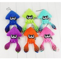 Brand New Splatoon Inkling Squid Plush Doll Cushion 9.7