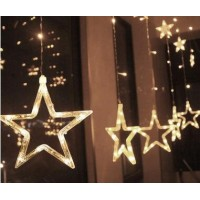 Led Star Curtain Light star Anchor Background Lights Indoor and Outdoor Waterproof Decorative Lamp String lightsLed Star Curtain Light star Anchor Background Lights Indoor and Outdoor Waterproof Decorative Lamp String lights<br>