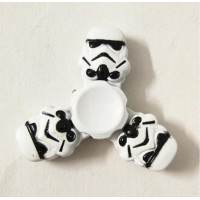 Star Wars Stormtrooper Alloy Tri Fidget Hand Spinner Triangle Finger EDC Focus Stress ADHD Gyro Toy