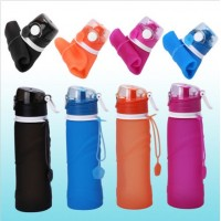 750ml Collapsible Folding Silicone Drink Water Bottle Kettle Travel Sport Hot DY750ml Collapsible Folding Silicone Drink Water Bottle Kettle Travel Sport Hot DY<br>