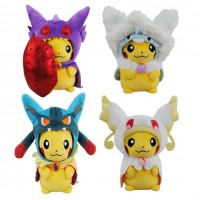 Brand New Pokemon Monster Pikachu Cosplay Lucario Altaria Sableye Audino Plush Doll Toy