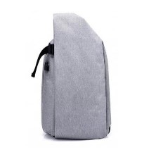 Men Stylish Anti-theft Canvas Backpack with USB PortMen Stylish Anti-theft Canvas Backpack with USB Port<br>