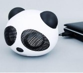 3.5mm Wired Mini Portable Anti-skid Subwoofer Panda USB 2.0 Speaker for Tablet iPad Computer3.5mm Wired Mini Portable Anti-skid Subwoofer Panda USB 2.0 Speaker for Tablet iPad Computer<br>